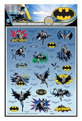 Batman stickervellen set van 4