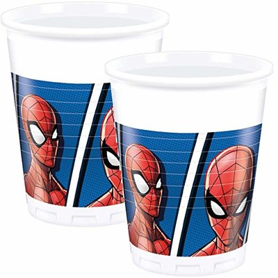 Spiderman party bekers