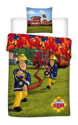 Brandweerman Sam dekbedovertrek Fire