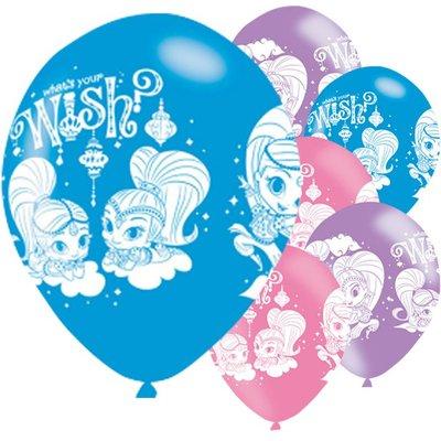 Shimmer and Shine feest ballonnen