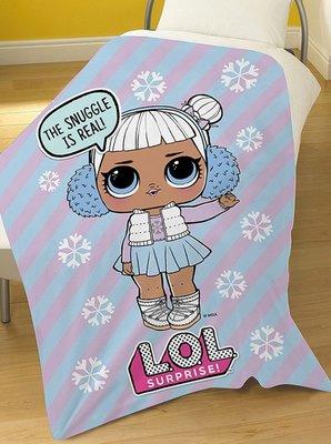 L.O.L. Surprise fleece deken 100x150cm