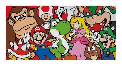 Super Mario strandlaken - badlaken