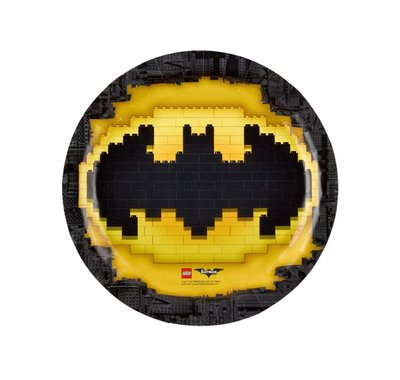 Lego Batman feestbordjes