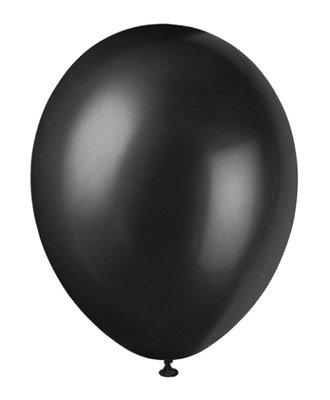 Ballonnen 30 centimeter unikleur zwart