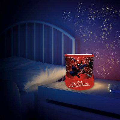 Spiderman projector nachtlampje