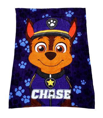 Paw Patrol fleece deken Chase