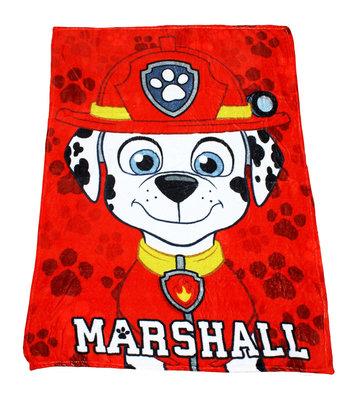 Paw Patrol fleece deken Marshall
