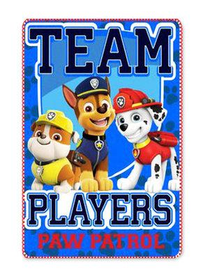 Paw Patrol fleece deken Team Players