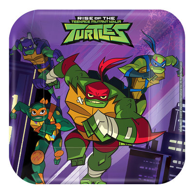 Teenage Mutant Ninja Turtles gebaksbordjes 2019