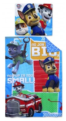 Paw Patrol dekbedovertrek No job too Big