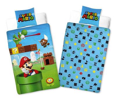 Super Mario dekbedovertrek Yoshi