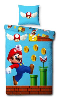 Super Mario dekbedovertrek Coins