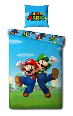 Super Mario dekbedovertrek Bros