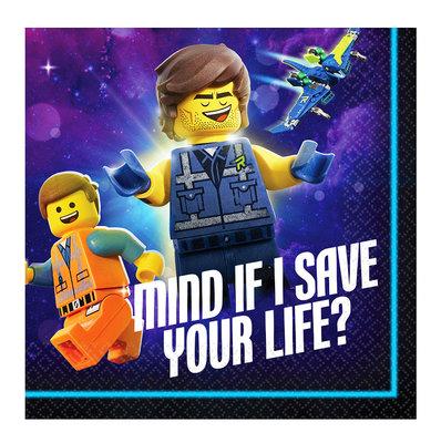 Lego Movie mini servetten