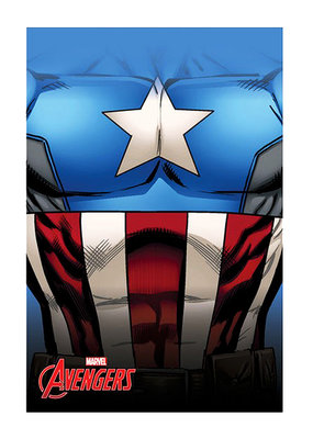 The Avengers fleece deken Captain America