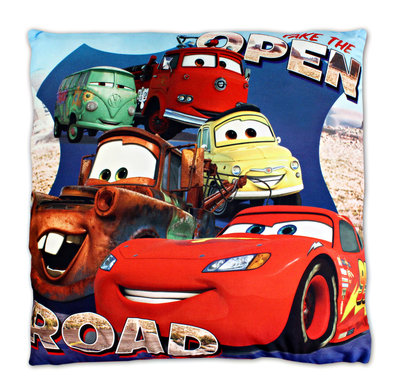 Disney Cars kussen Open Road