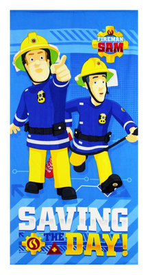 Brandweerman Sam badlaken - strandlaken Team
