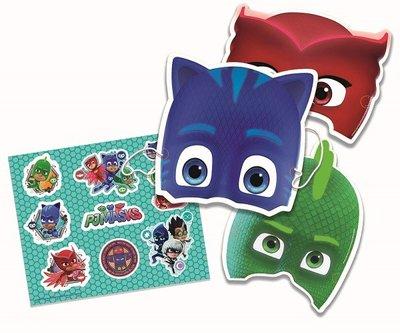 PJ Masks feest maskers met stickervellen