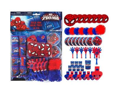 Spiderman uitdeel cadeautjes partypack