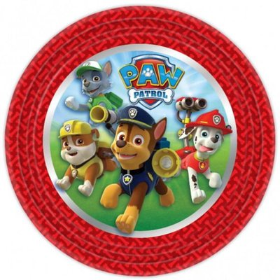 Paw Patrol party bordjes 2018