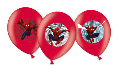Spiderman ballonnen City