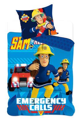 Brandweerman Sam Junior dekbedovertrek 90x140cm