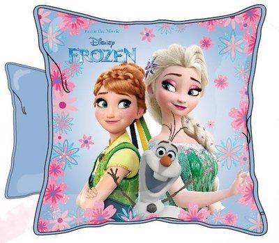 Disney Frozen kussen Summer met Elsa Anna en Olaf