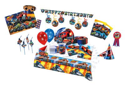 Blaze en de Monsterwielen feestpakket TOP - pakket voor 8 personen