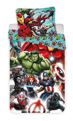 The Avengers dekbedovertrek Team 140x200cm