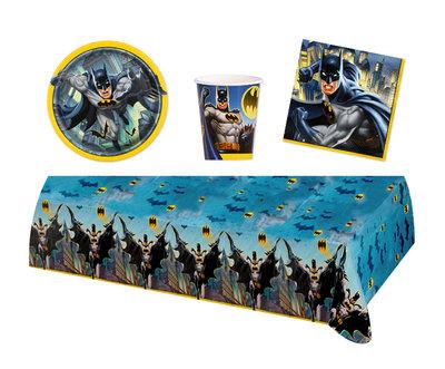 Batman feestpakket - voordeelpakket 8 personen