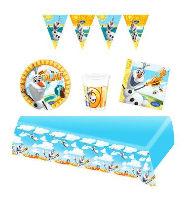 Disney Frozen Olaf feestpakket - voordeelpakket 8 personen