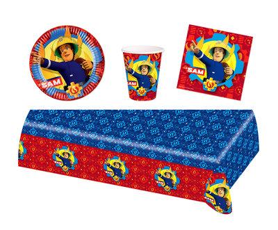 Brandweerman Sam feestpakket - voordeelpakket 8 personen