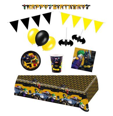 Lego Batman feestpakket Deluxe - Pakket voor 8 personen