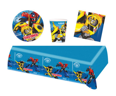 Transformers feestpakket - voordeelpakket 8 personen