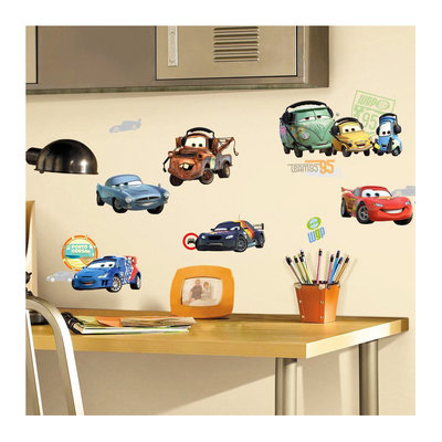 Disney Cars muurstickers 26-delig