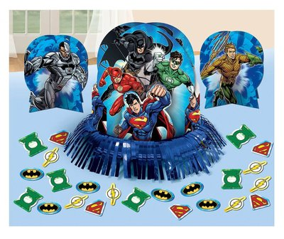 Justice League tafel decoratie set