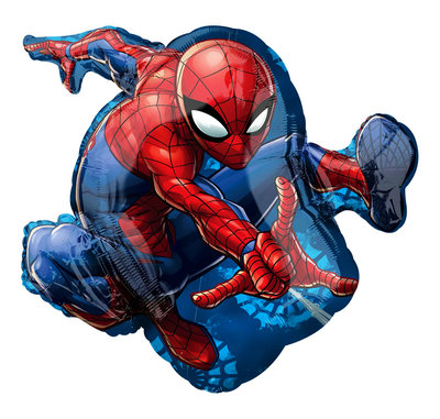Spiderman folie ballon Shape