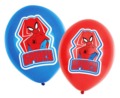 Spiderman ballonnen Spidey