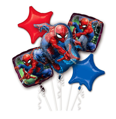 Spiderman folie ballonnen set