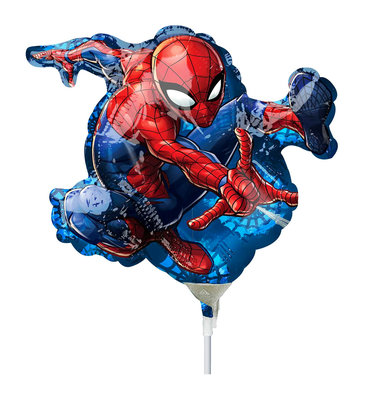 Spiderman folie ballon Shape klein
