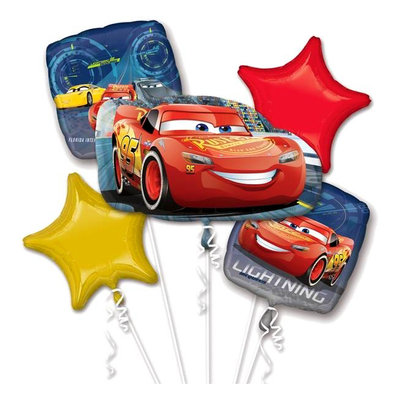 Disney Cars folie ballonnen set