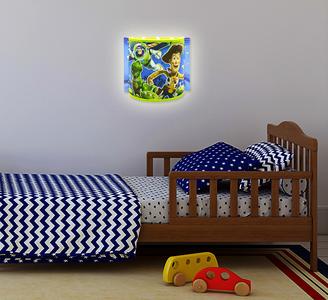 Disney Toy Story wandlamp half rond voorbeeld