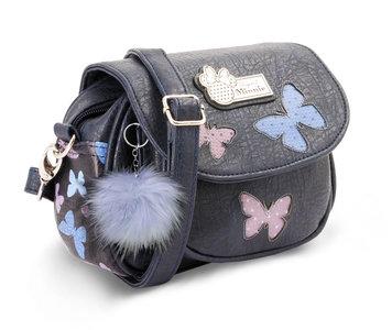 Minnie Mouse schoudertas met flap Blauw