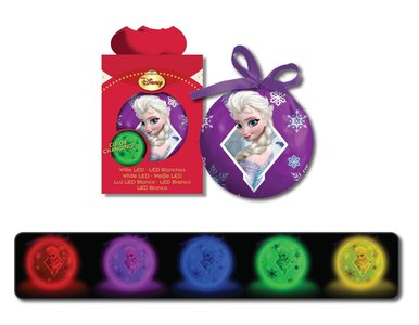 Disney Frozen kerstbal met GLOW licht