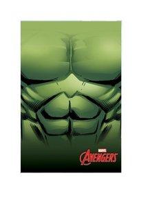 Hulk fleece deken