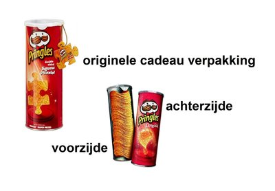 Pringles puzzel 2-zijdig