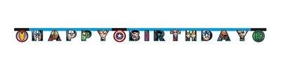 Avengers HAPPY BIRTHDAY slinger
