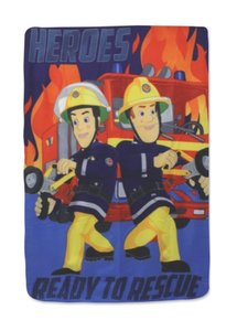 Brandweerman Sam fleece deken