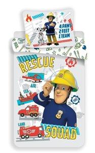 Brandweerman Sam peuter dekbedovertrek 100x135cm
