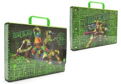 Teenage Mutant Ninja Turtles A4 opberg koffer